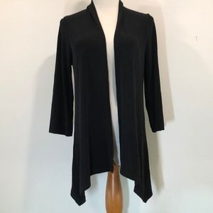 Chico's Travelers open front Black Jacket 0 or XS